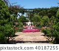 fountain, water fountain, garden 40187255