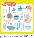 In the kitchen  40195671