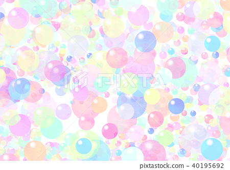 Watercolor colorful texture - Stock Illustration [40195692] - PIXTA