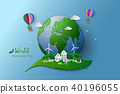 Eco friendly and environment conservation concept 40196055