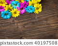 flowers, background, wooden 40197508