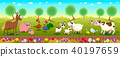 animal, farm, vector 40197659