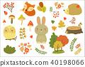 autumn element vector 40198066