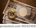 比特幣和1萬日元的賬單 40202468