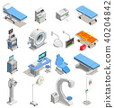 equipment, medical, isometric 40204842