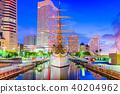 Yokohama, Japan Cityscape 40204962