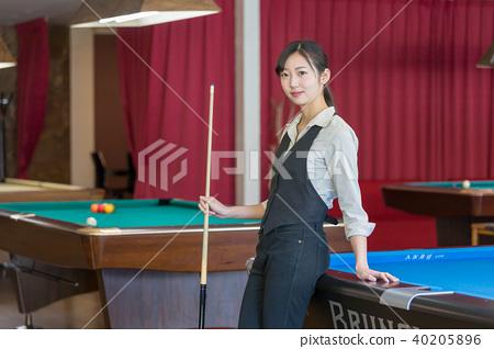 Billiard image woman hustler 40205896