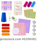 Sewing Accessories Realistic Set 40206481
