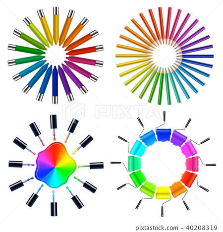 Color Scheme Art Objects  40208319