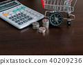 business,calculator,coin 40209236