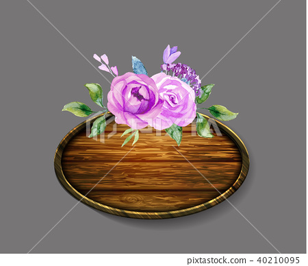Set of the floral arrangements 40210095