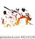 棒球 擊球手 捕手 40210128