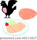 雞 雞肉 胸脯肉 40211817