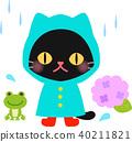 raincoat, cat, pussy 40211821
