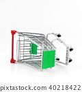 Italian shopping cart 40218422