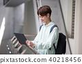 인물, 노트북, 남자 40218456