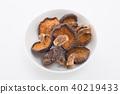 말린 표고 버섯 40219433