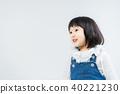 귀여운 여자아이 40221230