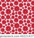 Simple cute pattern in abstract flowers. Ditsy print. Floral seamless background. Fashion prints 40221427