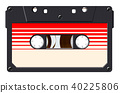 vintage, cassette, retro 40225806