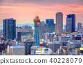 Osaka, Japan Skyline 40228079
