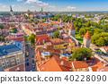 Tallinn, Estonia Historic Skyline 40228090