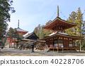 mt. koya, danjo garan (area for religious practices), kongobu-ji temple 40228706