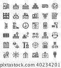 logistic icon 40234201