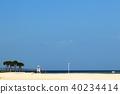 度假村的美麗海灘 40234414