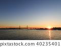 도시 풍경 (가나가와 현 요코하마 항, 겨울) 40235401