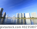 스미다가와, 고층 아파트, 맑음 40235807