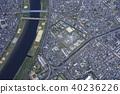 도쿄 구치소 / 코스 게 주변 공중 촬영 40236226