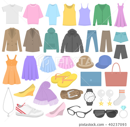 服装 衣服 衣物 40237093