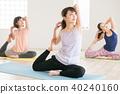 瑜伽 瑜珈 成熟的女人 40240160