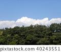 blue sky, blue, white 40243551