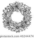 flower, floral, design 40244474