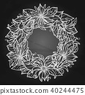 anise, wreath, frame 40244475