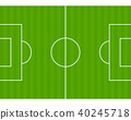 Soccer court illustration 40245718