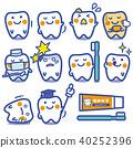 Seikatsu皮卡/蛀牙預防(藍色格線) 40252396