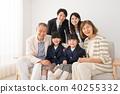 三代家庭形象 40255332