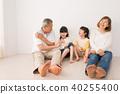 ภาพครอบครัวอาวุโสของหลาน 40255400