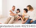 ภาพครอบครัวอาวุโสของหลาน 40255403