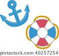 anchor, inflatable, vector 40257254