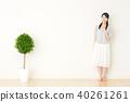 여성 미소 40261261