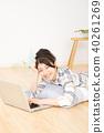 여성 컴퓨터 40261269