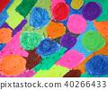 蜡笔 多彩 富有色彩的 40266433