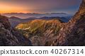 mountain sunset landscape 40267314