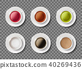 black, tea, vector 40269436