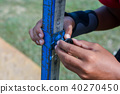 measuring the high jump athletics 40270450