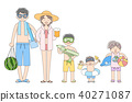 person, full body, sea bathing 40271087